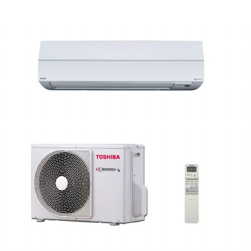 Toshiba Air Conditioning Wall Mounted Digital Heat Pump Inverter RAV-SM307KRTP-E 2.5Kw/9000Btu A+ 240V~50Hz
